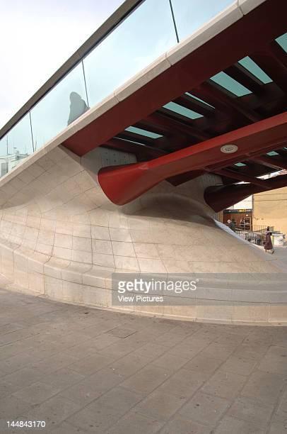 Constitution Bridge Grand Canal VeniceItaly Architect Santiago Calatrava Constitution Bridge Canal Grande Santiago Calatrava Venice Italy Detailed...