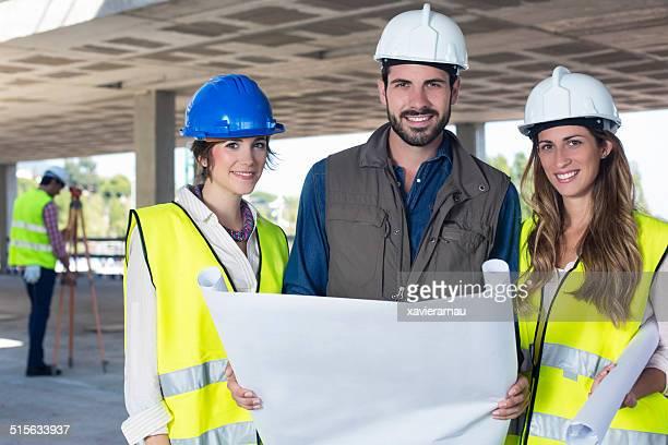 Konstruktion business-team