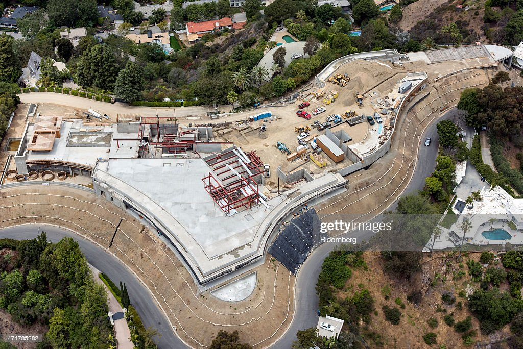 Aerial Views Of Record 500 Million Mansion Getty Images