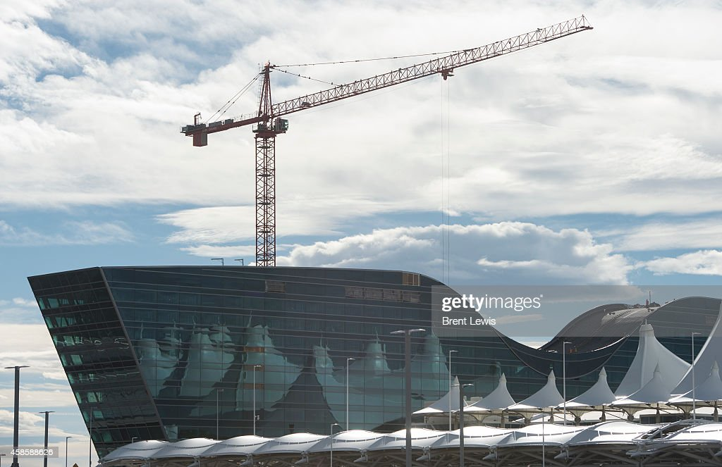 Construction continues on 519room Westin hotel and conference center at the front of the Denver International Airport on Friday November 7 2014 at in...