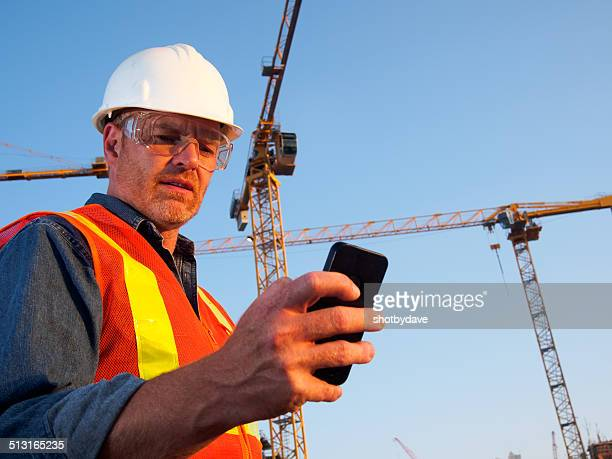 Construction Cranes and Engineer