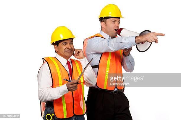 Construction Foremen Communication