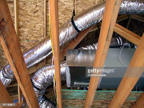 Construcción-calefacción, ventilación y aire acondicionado