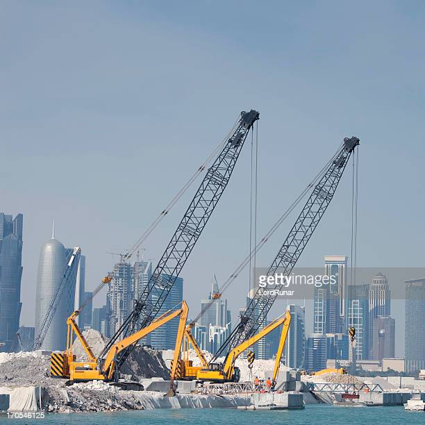Construction in Doha