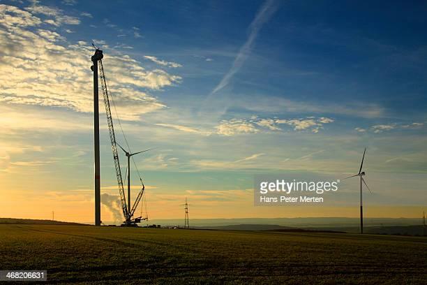 construction of windturbine
