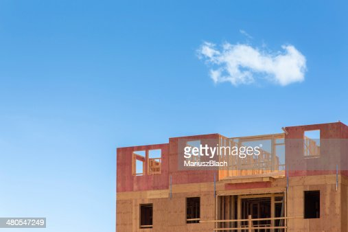 A construção : Foto de stock