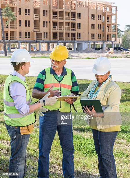 construction project senior supervisors developer contractor manager engineer