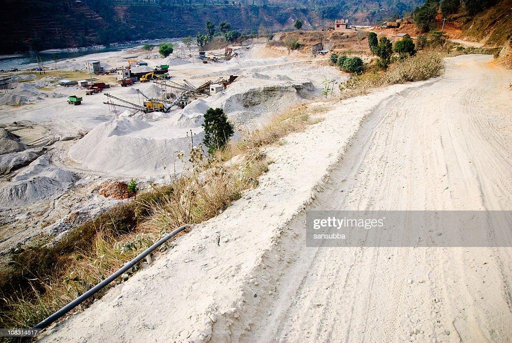 Construction quarry : Stock Photo