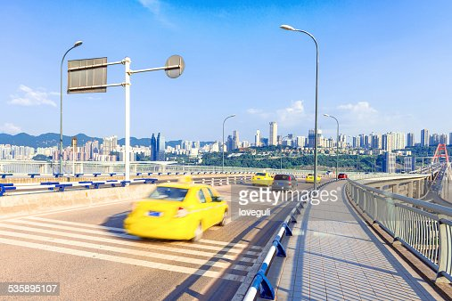 construction site in modern city and skyline : Stock Photo