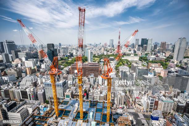 Construction Site in Tokyo