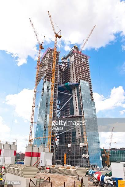 Baustelle der EZB Frankfurt