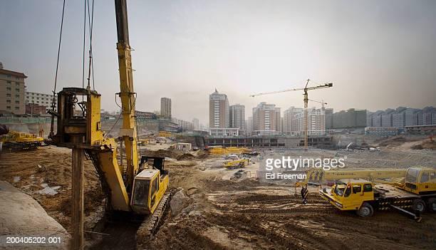 Construction site (digital enhancement)