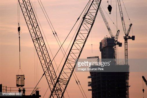 Construction site : Stock-Foto