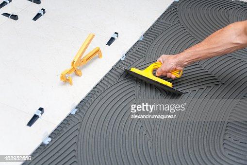 Construction site - Tile Floor