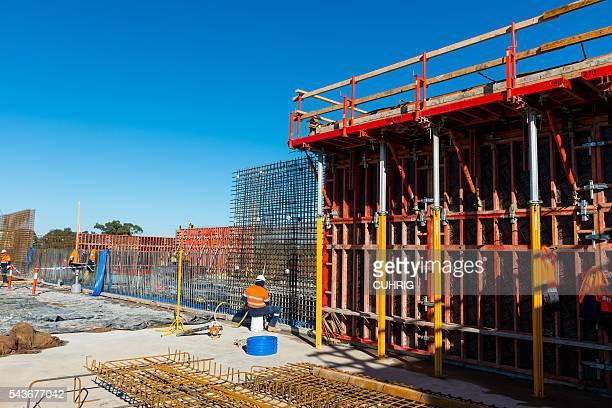 Construction Site using Peri Form