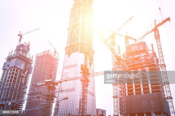 Chantiers de construction de Beijing guomao