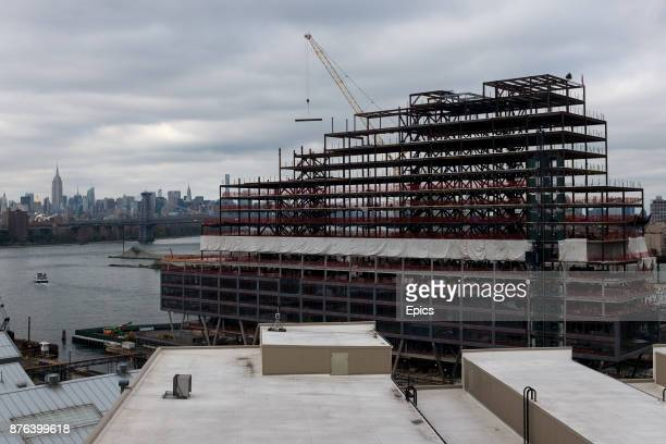 Construction underway at the Brooklyn Navy Yard The Navy Yard once a shipyard producing warships for the United States Navy and decommissioned in...