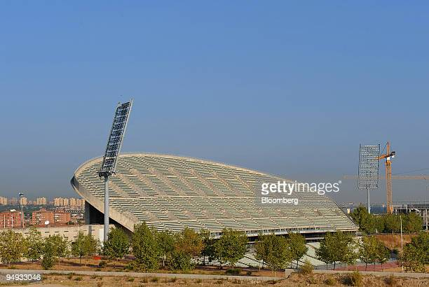 FILE Construction work continues on the Estadio La Peineta which is proposed as the main 2016 Olympic stadium in Madrid Spain on Wednesday Sept 24...