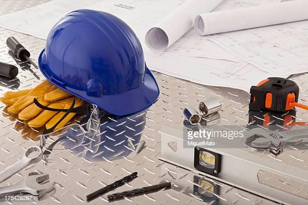 Bauarbeiten-Tools