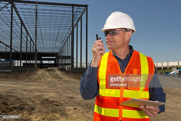 Construction Worker and Communication