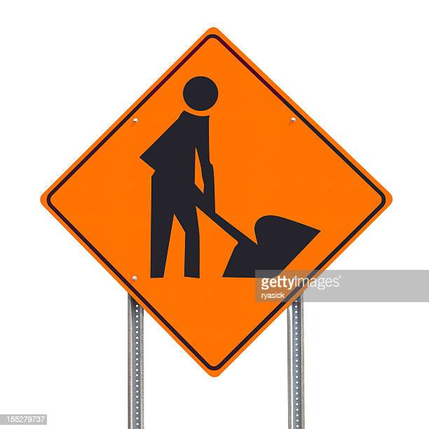 men at work sign stock photos and pictures