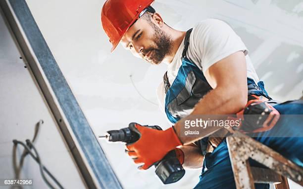 Bauarbeiter.