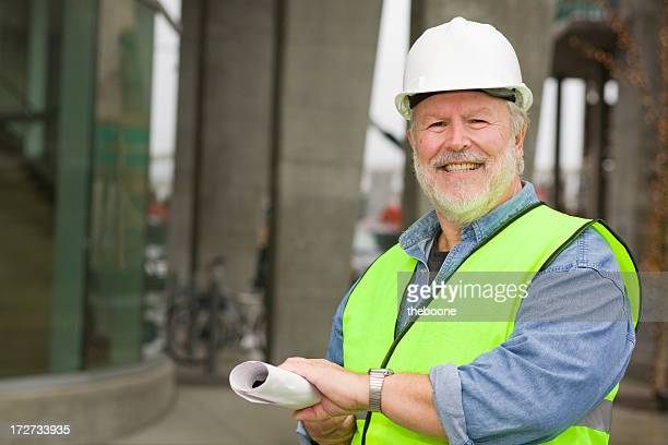 construction worker portraits