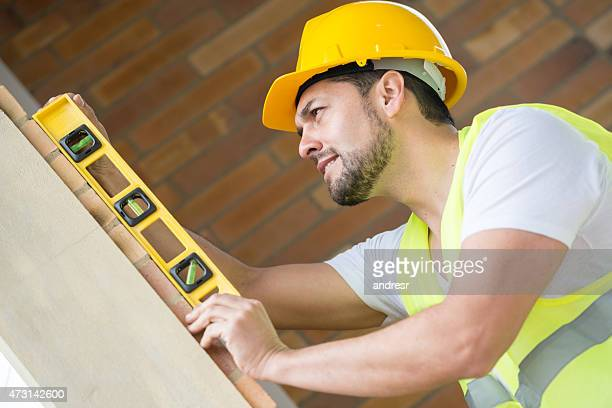 Construction worker working