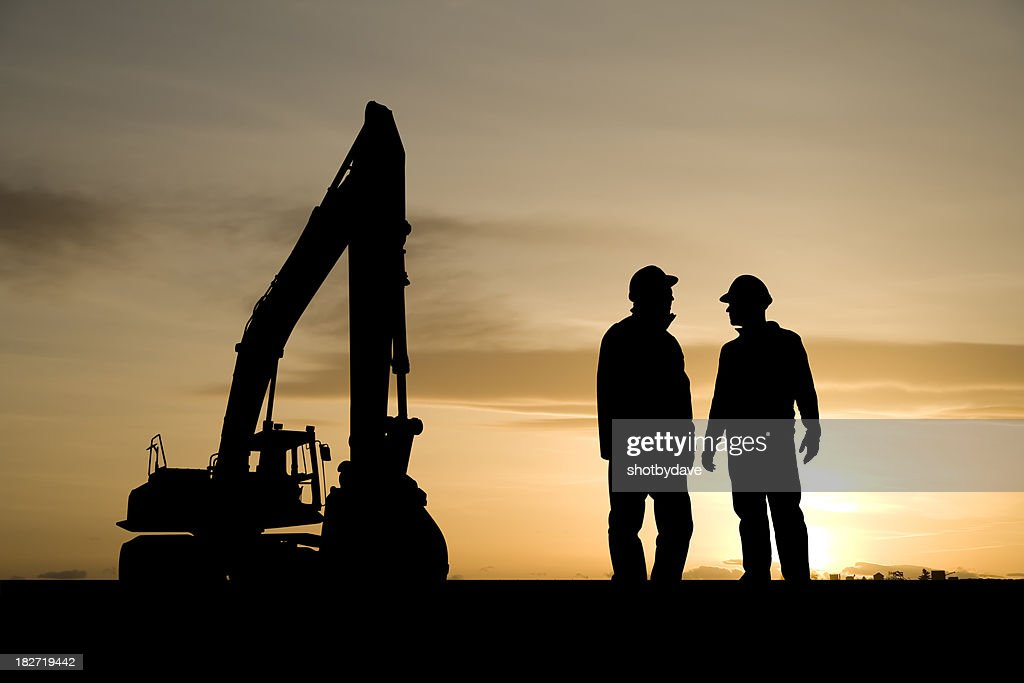 Construction Workers and Equipment