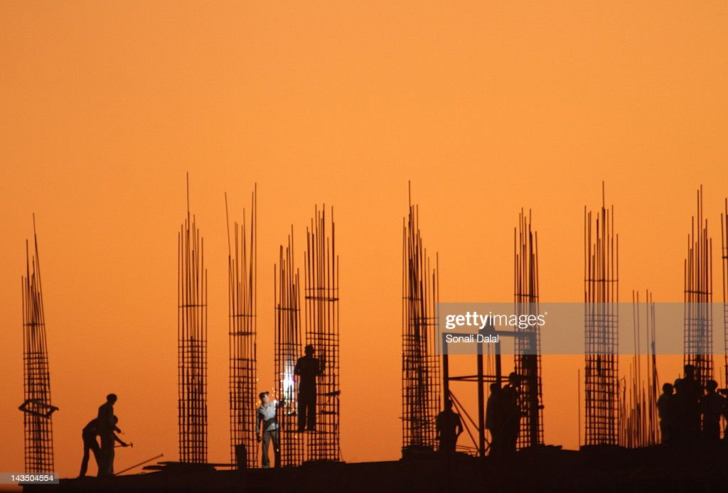 Construction workers : Stock Photo