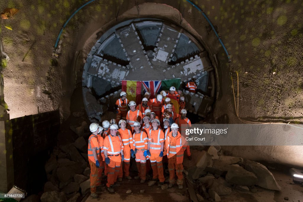 Tunneling finished for the new London Underground Northern Line extension to Nine Elms, with the new line due to open in 2020