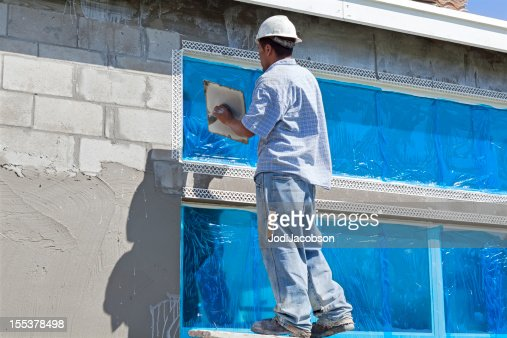 Construction:Real Situation, Stucco contractor