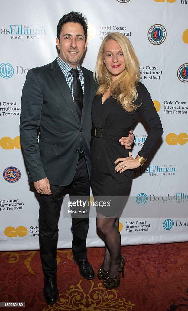 Consuelo Vanderbilt Costin (R) and guest attend the annual benefit gala during the Third Annual Gold Coast International Film Festival at on October 23, 2013 in Port Washington, New York.