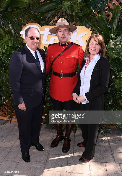 Consul General of Canada Los Angeles James Villeneuve and wife Kim Walker attend the Canadian Brunch Reception Honoring Canadian Nominees For The...