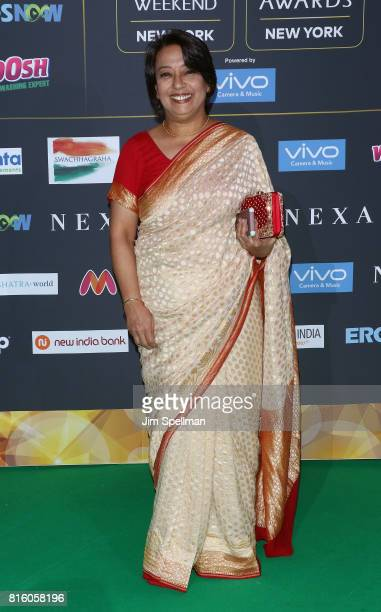 Consul General of India to New York Riva Ganguly Das attends the 2017 International Indian Film Academy Festival at MetLife Stadium on July 14 2017...