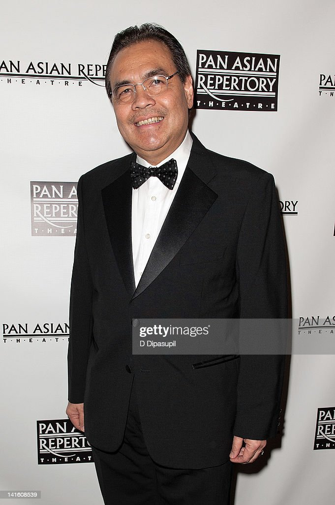 Consul General of the Philippines Mario L. De Leon Jr. attends 'Legacy And Homecoming' the Pan Asian Repertory's 35th Anniversary Gala at The Edison Ballroom on March 19, 2012 in New York City.