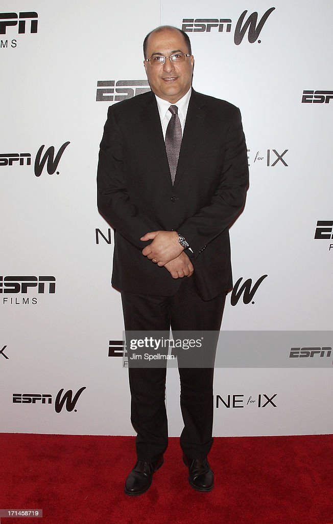 Consulate General of Israel in New York Ido Aharoni attends 'Venus Vs' and 'Coach' New York Special Screening at Paley Center For Media on June 24...