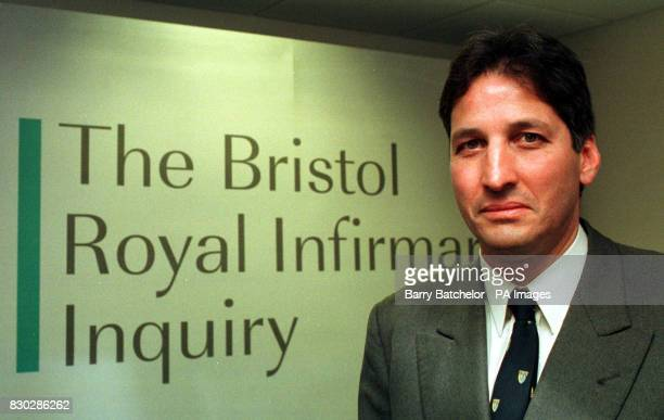 Consultant anaesthetist Dr Stephen Bolsin before giving evidence to the multimillion pound public inquiry into the Bristol heart babies scandal at...