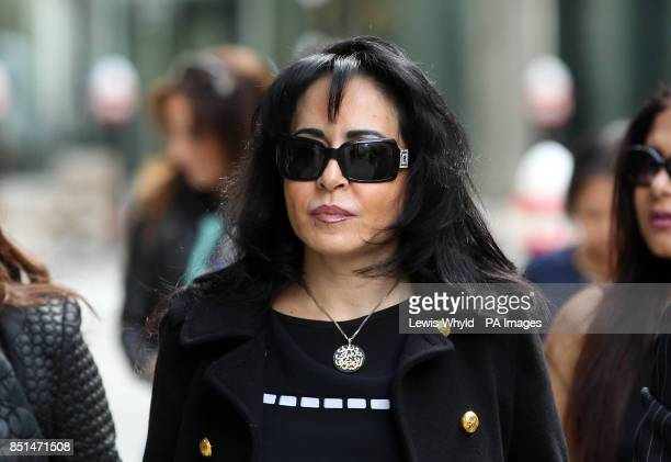 Consultant Daad Sharab arrives at the Rolls Building as Saudi Prince AlWaleed Bin Talal Bin AbdulAziz AlSaud is due to give evidence at a...