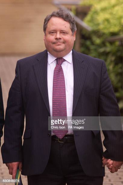 Consultant gynaecologist Robert Bates from Basingstoke Hampshire leaves Southampton Crown Court where he pleaded not guilty to keeping embryos from...