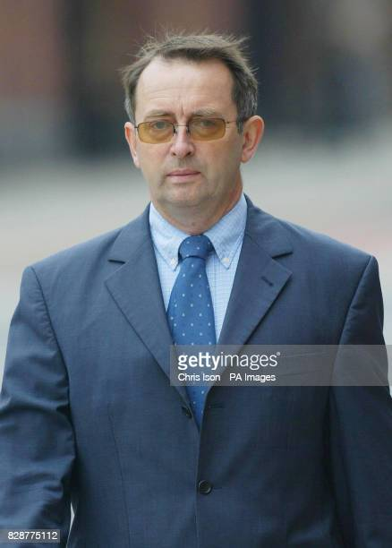 Consultant neurosurgeon Donald Campbell 54 arrives at Chichester Crown Court where he denies endangering the safety of an aircraft and endangering...