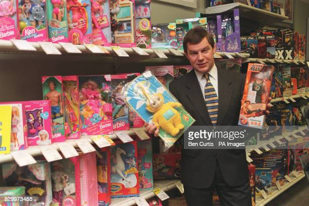 Consumer Affairs Minister Nigel Griffiths launches the Government's toy safety campaign at the Argos Store in London's Victoria today highlighting...