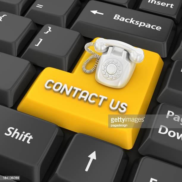 contact us enter key