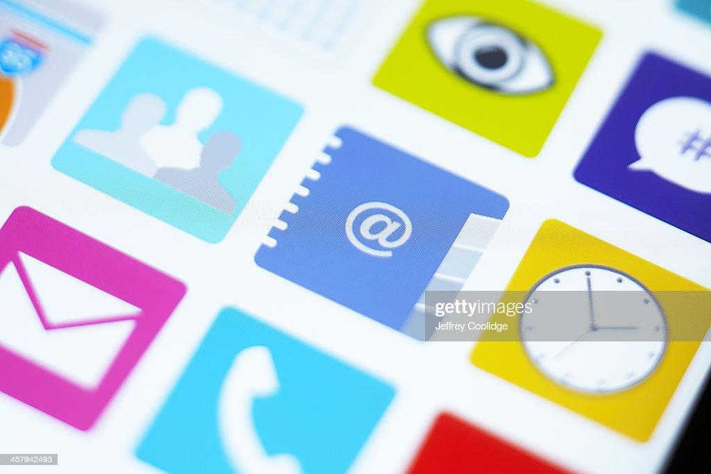Contacts App Icon Horizontal