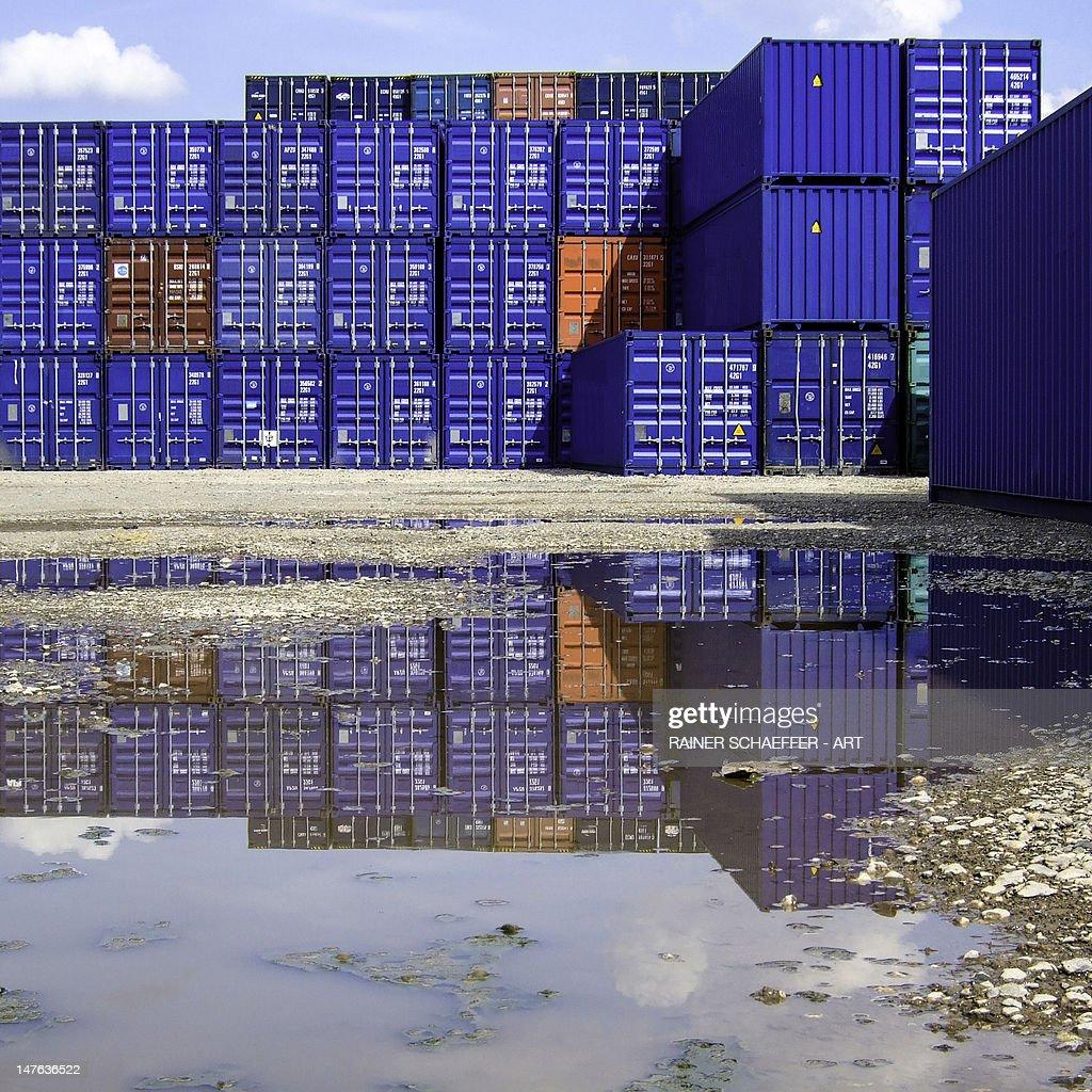 container architecture : Stock Photo