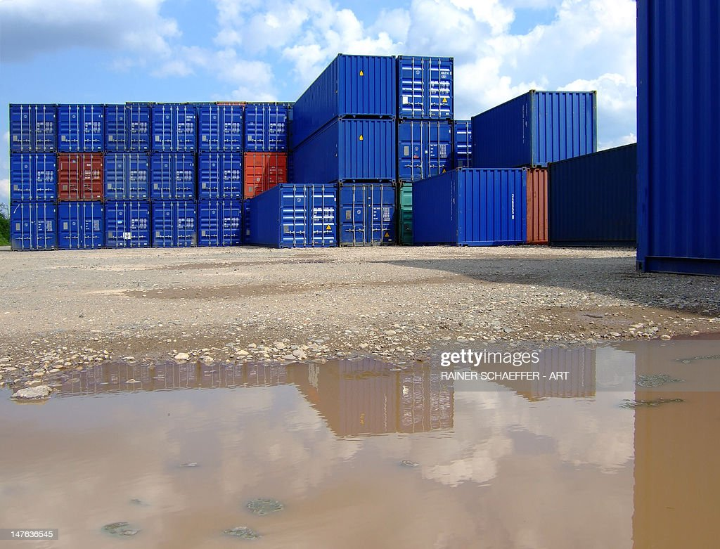 container architecture : Stock Photo