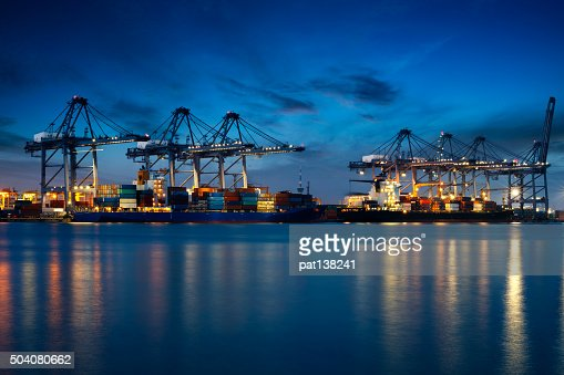 Container Cargo : Stock Photo