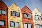 Container homes for students and asylum seekers
