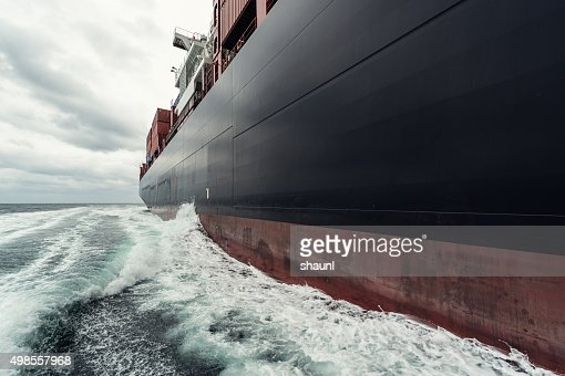 Container Ship at Sea