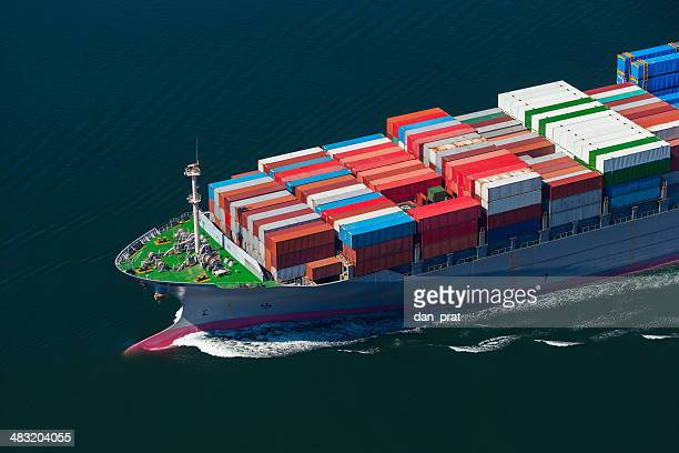 Container Ship Bow